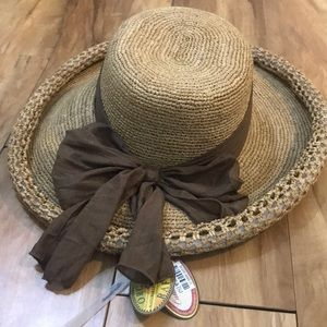 🌟 🆕 BRAND NEW CALLANAN STRAW FLOPPY HAT (NWT)